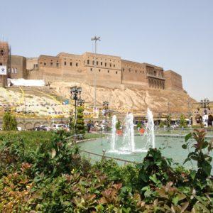 The Erbil citadel, a UNESCO World Heritage site in downtown Erbil, Kurdistan Region of Iraq