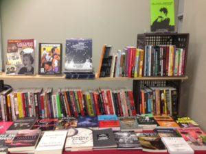 antifa book display